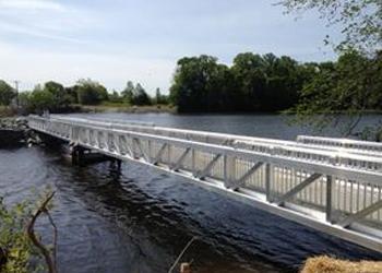 Footbridge at Garrison Lake